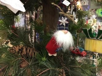 Santa tree ornament.